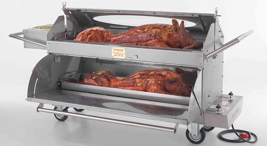 About Hog Roast Machine