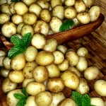New potatoes With A Herb Butter
