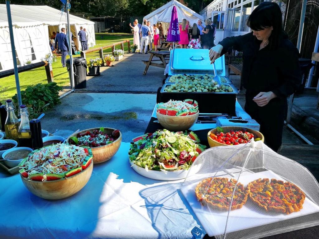 Set Up At An Outdoor Event
