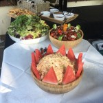 Fresh Coleslaw And Salad