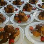 Delicious Chocolate Profiteroles