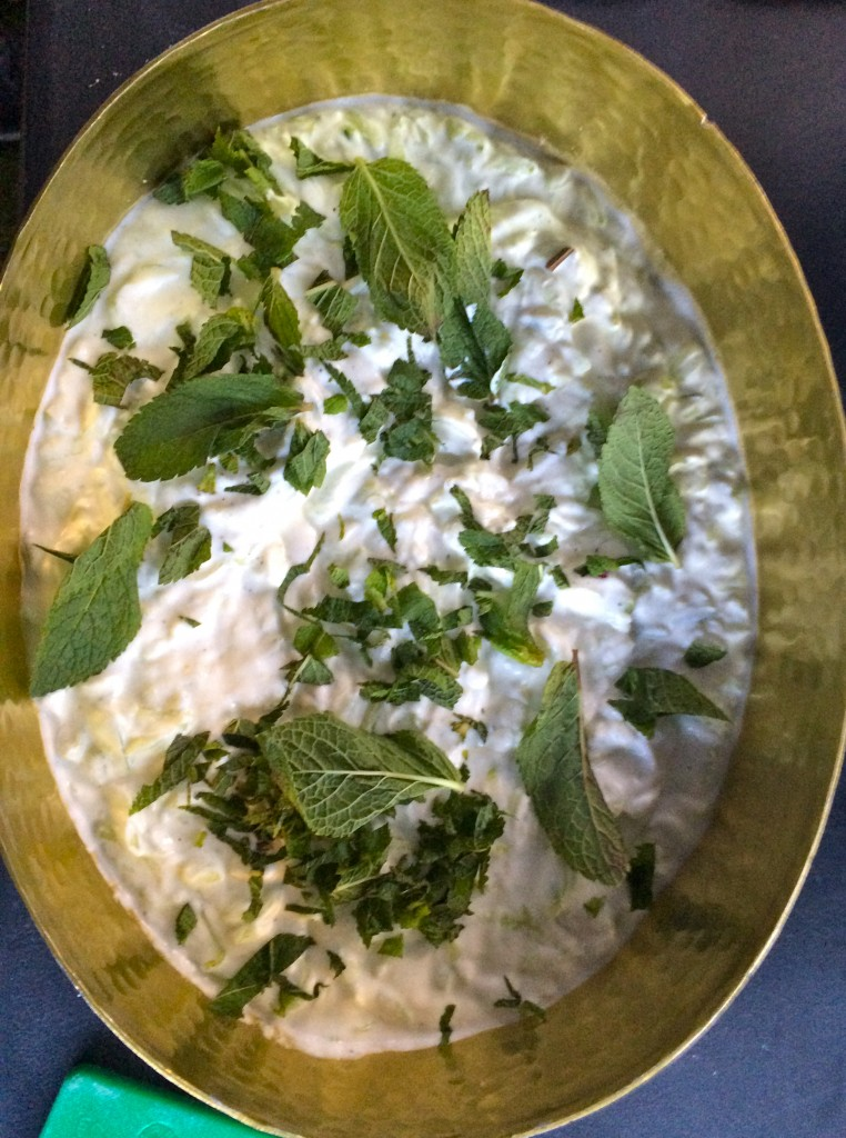 Minted Dip For The Lamb