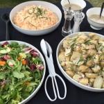 Salad And Sauce Selection