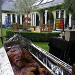 Hog Roast Event in Esher For 60 People