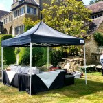 Set Up Catering At A Private Party