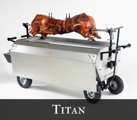 titan hog roast machine
