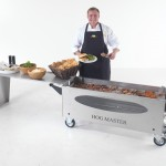 Picture 4 Hogmaster Glass BBQ Table Food Chef -TF