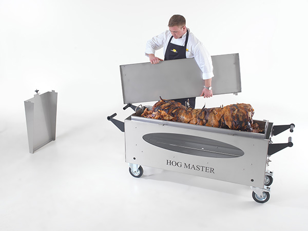 Remove the lid from the Hogmaster